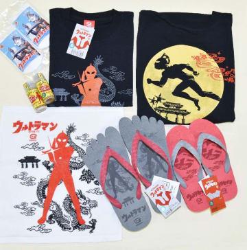 琉球ファクトリーが開発したウルトラマンシリーズの商品