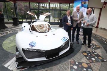 """ACO、ル・マンの水素燃料クラス創設を見据えた""""ミッションH24""""発表。燃料電池車の初走行も"""