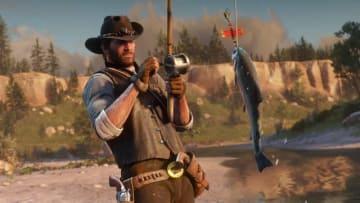狩猟と釣りは荒野の必須スキル!『レッド・デッド・リデンプション2』最新スクリーンショット