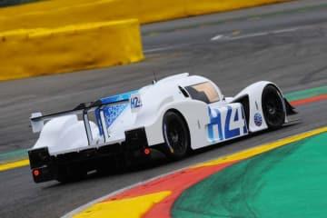 【動画】スパで燃料電池プロトタイプカーがデモラン。2024年のル・マンは水素カー主役に?