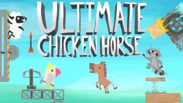 ワナを仕掛けてかわしてハチャメチャバトル!「Ultimate Chicken Horse」Switch版が配信!