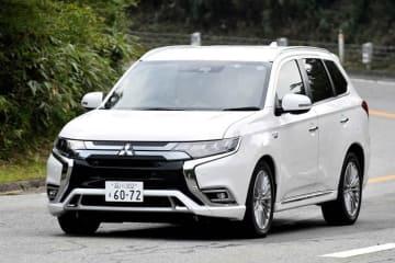 三菱 アウトランダーPHEV 2019年モデル G Premium Package ボディカラー:ホワイトパール