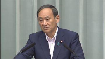 菅官房長官「日米でいっそう綿密に」 米朝首脳会談2回目について