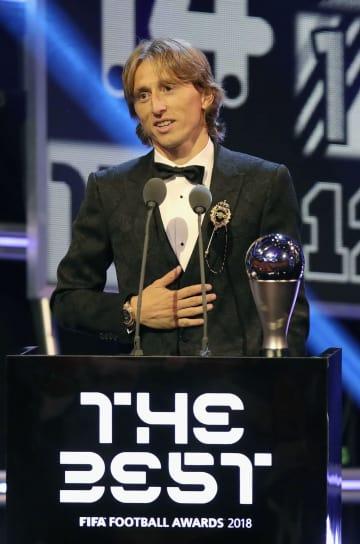 모드리치, 2018 FIFA '올해의 선수'