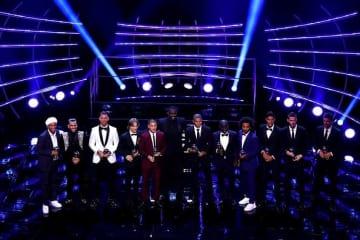 ワールドイレブンに選ばれた選手たち photo/Getty Images