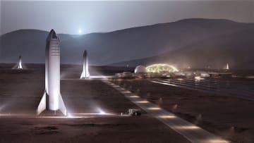 マスク氏「スペースXの火星基地は2028年建設が目標」