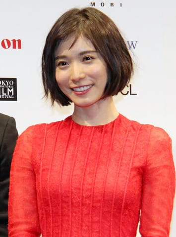 「第31回東京国際映画祭」のラインアップ発表会に登場した松岡茉優さん