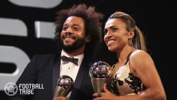 【動画】FIFA式典でマルセロ息子がセードルフと1対1で対決!勝敗は…?