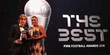 FIFA最優秀選手賞の投票、あの日本人選手も10位以内に入ってた!