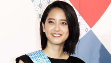 ラグビーワールドカップ2019年日本大会の開催1年前イベントに登場した山崎紘菜さん