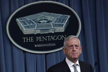 Mattis at Pentagon