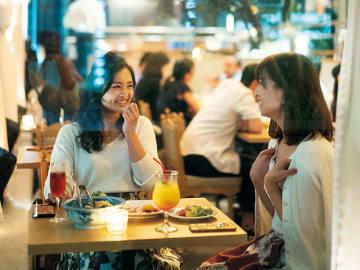 デート、接待、女子同士のサク飲みまで。5人の丸の内OLがリアルに使うレストラン5軒!