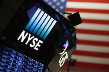 ニューヨーク証券取引所=2017年12月27日(AP=共同)