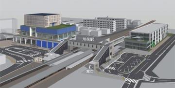 川俣駅周辺開発のイメージ図
