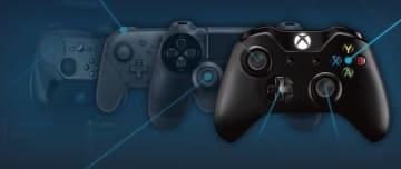 ValveがSteam上で使用されるコントローラー統計データを報告―Xbox系強し、PS4も大きく健闘