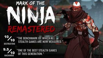 横スクニンジャACT『Mark of the Ninja: Remastered』Steamストアページが登場、10月10日に配信開始―オリジナル所持者向け有償アップグレードも