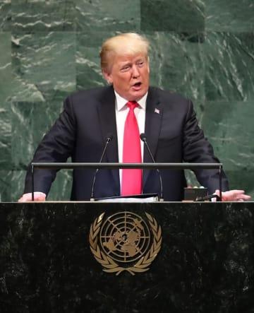 国連総会 一般討論 演説 トランプ大統領 トランプ 安倍 中国 習近平 貿易戦争 貿易