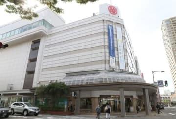 2020年3月22日で閉店することが決まった新潟三越=26日、新潟市中央区西堀通5