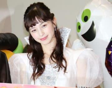映画「3D彼女 リアルガール」ハロウィーンイベントに登場した中条あやみさん