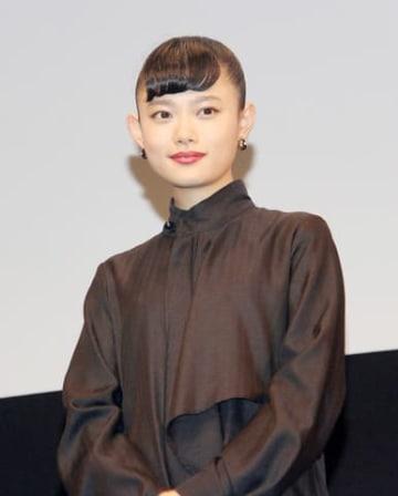 映画「パーフェクトワールド 君といる奇跡」公開記念イベントに出席した杉咲花さん