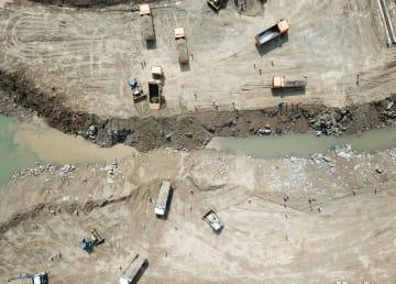 中パ経済回廊初の水力発電投資プロジェクト、全面施工段階に