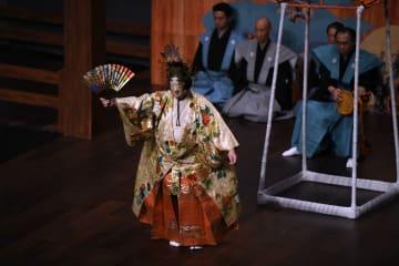 日本の「人間国宝」能楽師、西安で秦腔の名優と共演