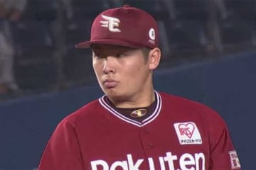 久々先発での勝利を挙げた楽天・松井裕樹【画像:(C)PLM】