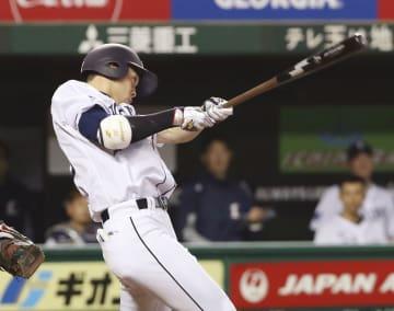 Shogo Akiyama of the Seibu Lions