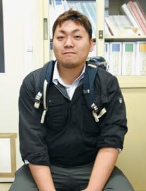 胆振東部地震の被災地でボランティアに精を出した森田さん