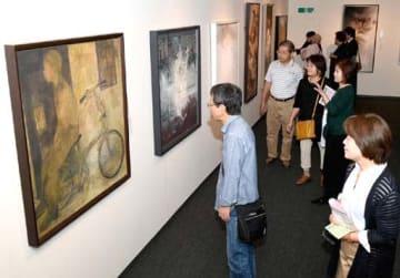 多彩な日本画の秀作が並ぶ第73回春の院展