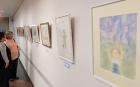 熊谷夫妻による野鳥写真とパステル画の二人展
