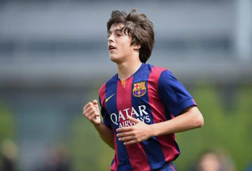 当時バルサでプレイしていたパブロ・モレノ photo/Getty Images