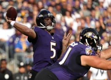 Joe Flacco, Ravens Beat Browns 27-8