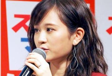 子ども写真館「スタジオマリオ」の新CMキャラクター就任イベントに出席した前田敦子さん