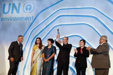 中国浙江省の「千万プロジェクト」、国連の「地球大賞」受賞