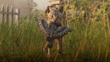 『レッド・デッド・リデンプション2』ネコが鳩ハント!様々な野生動物を映した最新ショット