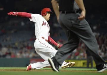 Baseball: Angels' Ohtani