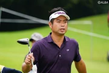 池田勇太はハーフターン時点で首位と2打差に後退(撮影:鈴木祥)