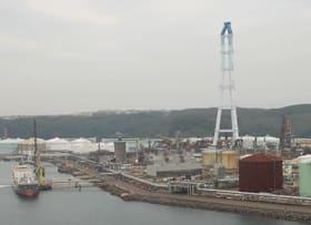 石油化学製品の製造機能停止まで半年となったJXTGエネルギー室蘭製造所