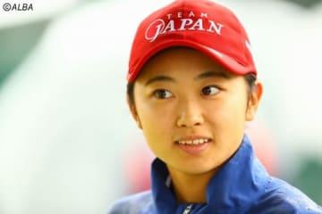 安田祐香、高校最後の日本女子OPを55位Tで終えた(撮影:村上航)