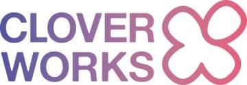 「CloverWorks(クローバーワークス)」のロゴ