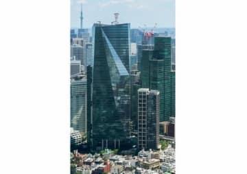 テレビ東京本社が入居する住友不動産六本木グランドタワー(「Wikipedia」より)