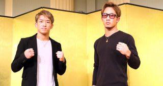 外国人選手を相手にそろって勝利を収めた朝倉兄弟(左が海、右が未来)。次は兄弟での大みそか参戦を狙う