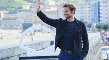 Bradley Cooper attends 'A Star Is Born' photocall at San Sebastian Film Festival (Credit: Sean Thorton/WENN.com)