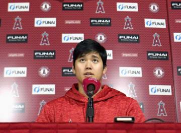 Baseball: Angels' Ohtani