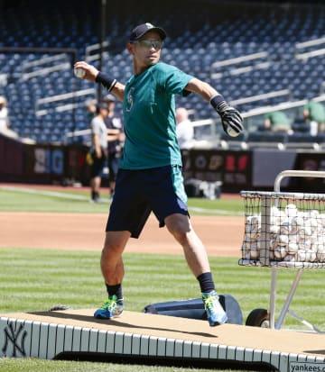 Baseball: Mariners' Ichiro