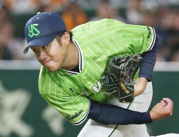 Baseball: Yakult's Sato