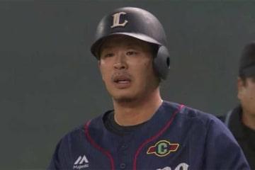 2点適時二塁打を放った西武・浅村栄斗【画像:(C)PLM】