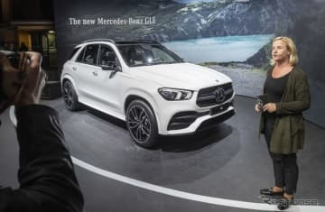 メルセデスベンツ GLE 新型(パリモーターショー2018)