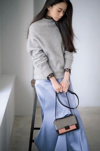 女性ファッション誌「Oggi」11月号に登場する趣里さんのビジュアル